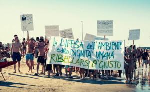 Manifestazione Paz Rimini