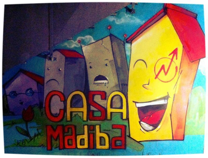 Casa Madiba Network - Murales esterno
