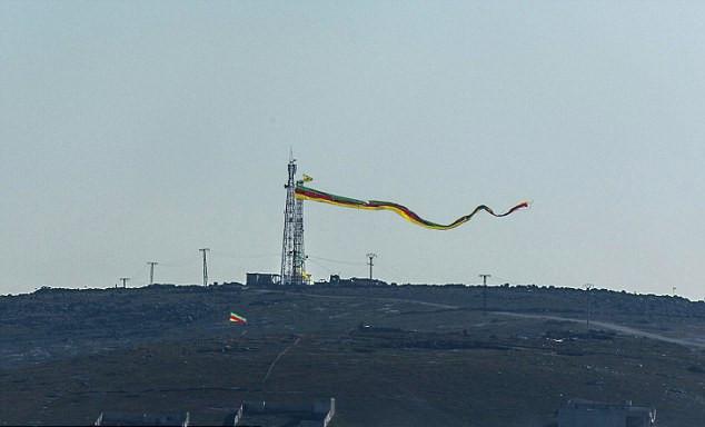 Bandiera del Rojava su Mistenur