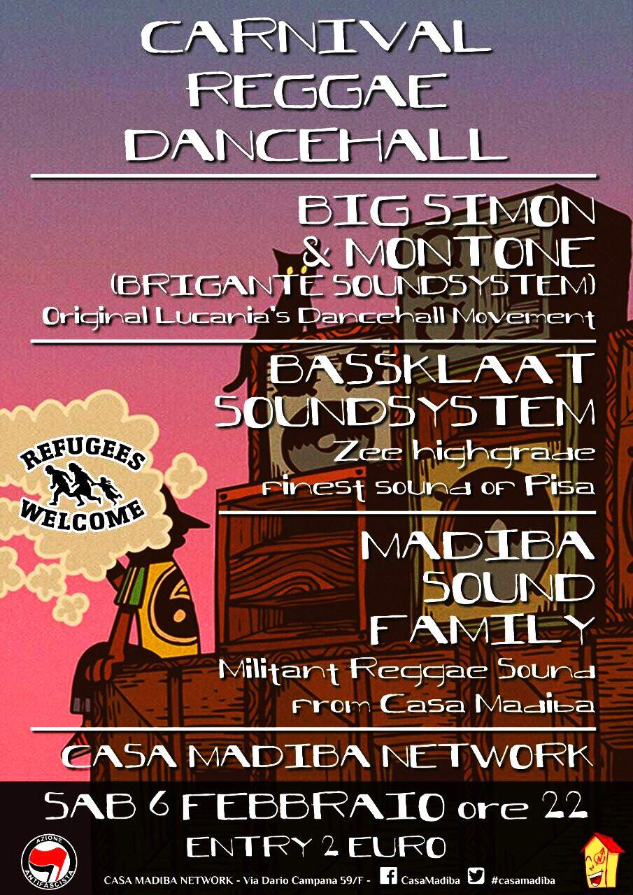 carnival reggae dancehall 6.02.16
