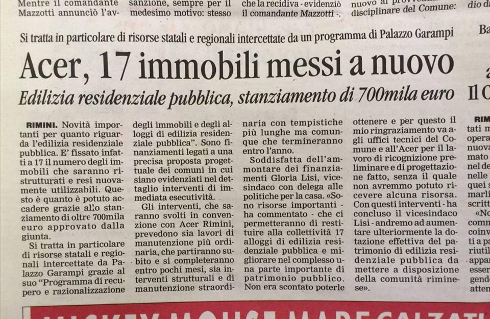 Corriere Romagna del 22 gen16