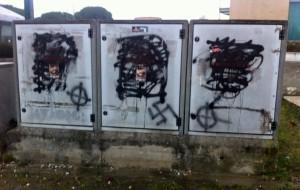 attacco vandalico al campo Meric