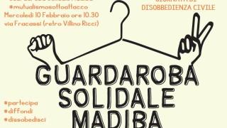 Locandina Guardaroba Solidale - Giornata di disobbedienza civile