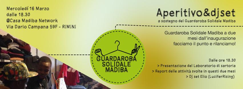 Banner Aperitivo Guardaroba Solidale