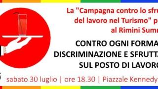 banner RiminiSummerPride CampagnaSfruttamentoTurismo