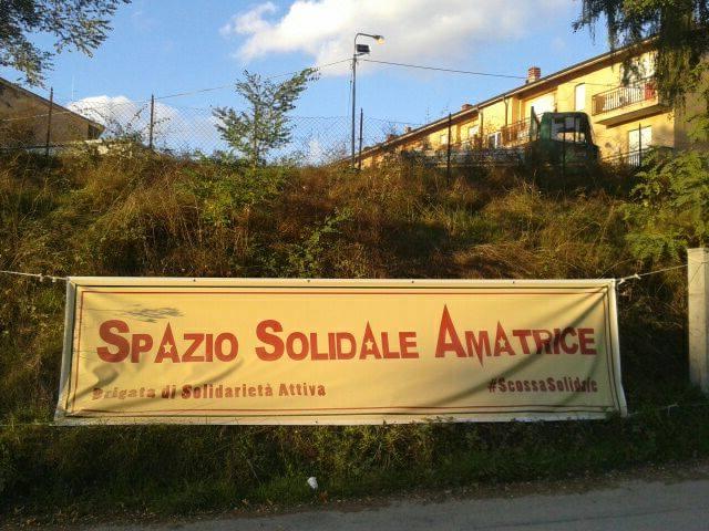 Campo Spazio Solidale Amatrice