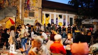 cena mercato gente