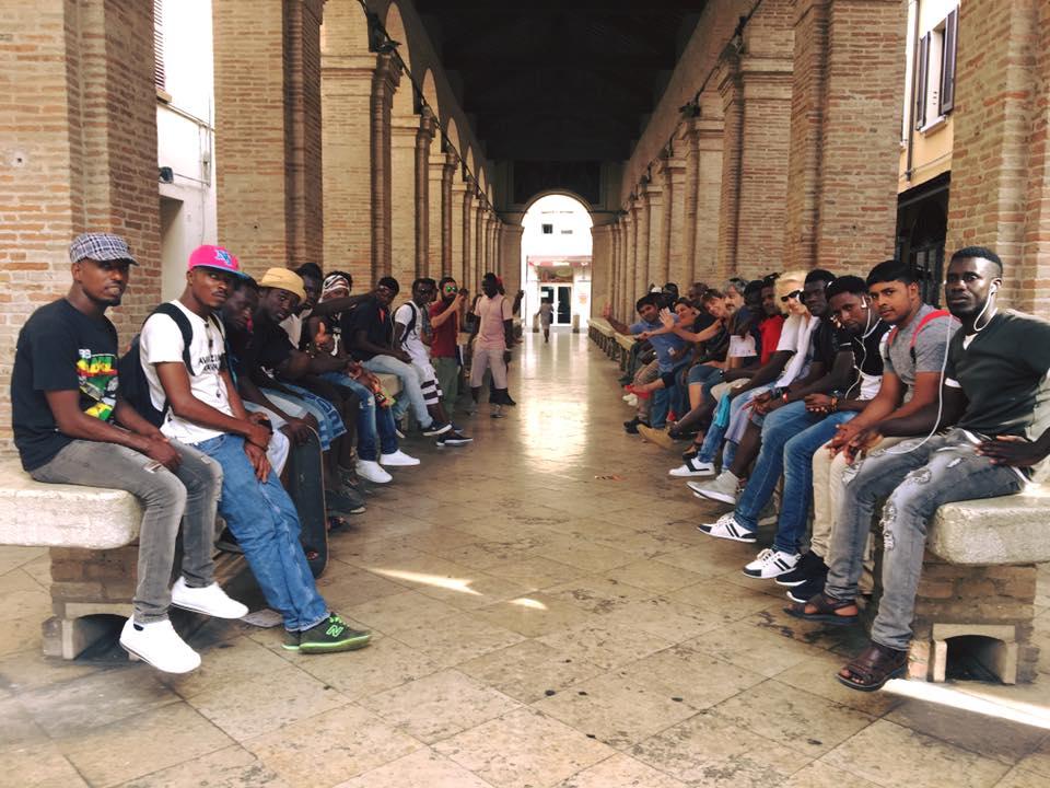 scuola madiba vecchia pescheria accoglienza migranti