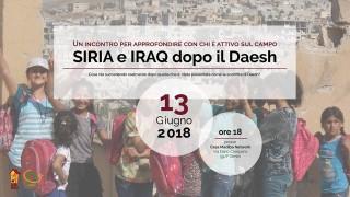 siria iraqu incontro