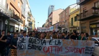 corteo sciopero studenti 10.10.2014