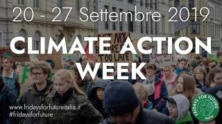 settimana mobilitazione clima